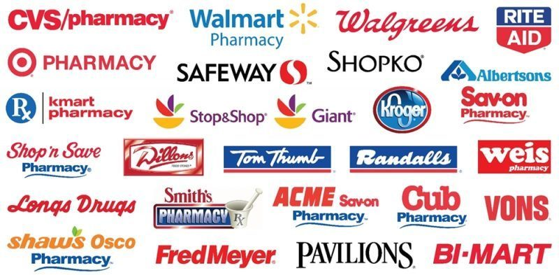 major pharmacies